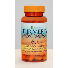 Nutraceutica Turmerix (komplex kurkuminoidů a piperínu) 60 kapslí