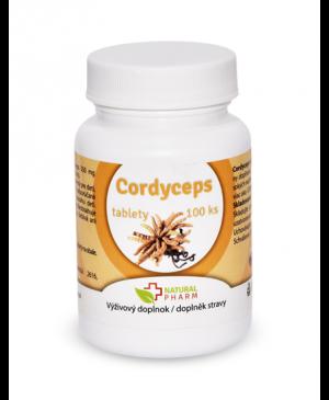 Cordyceps extrakt 100 tabliet
