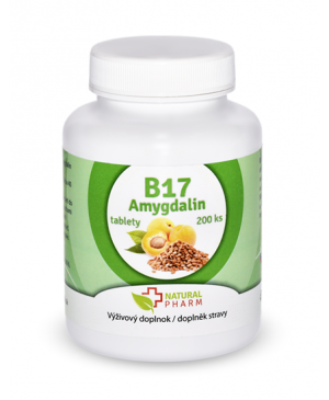 Amygdalin (vitamín B17) 200 tabliet