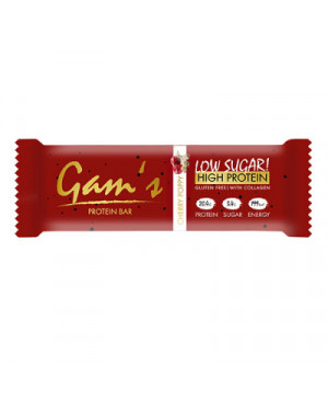 GAM´S Protein bar - cherry poppy