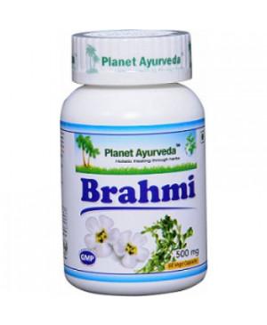 Planet Ayurveda Brahmi extrakt 10:1 500 mg 60 kapslí