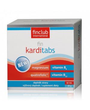 fin Karditabs - magnézium, b vitamíny