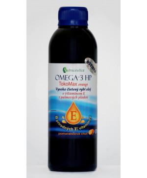 Rybí olej s vitamínom E Omega-3 HP TokoMax orange