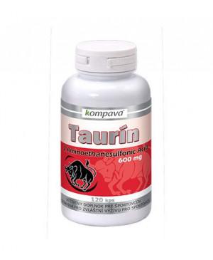 Kompava Taurin 600 mg 120 kapslí