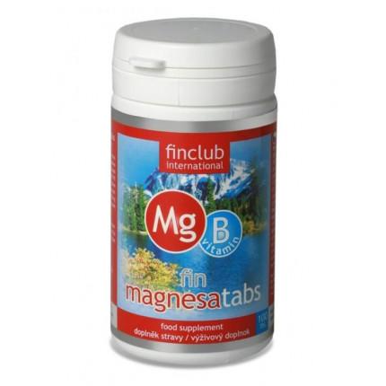 fin Magnesatabs - magnézium a vitamíny skupiny B