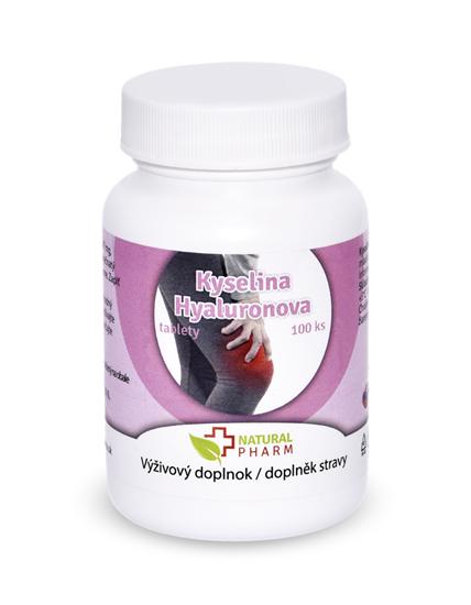 Natural Pharm Kyselina hyaluronová 100 tablet