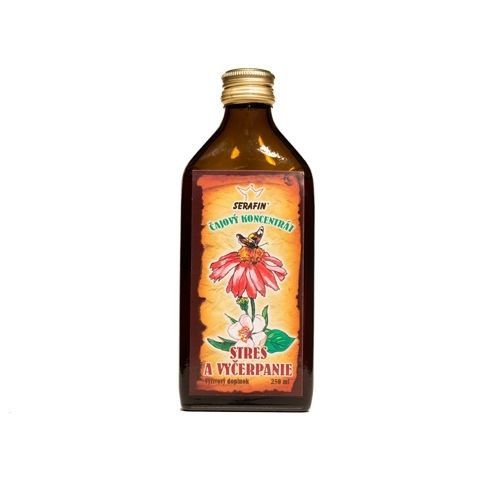Serafin - čajový koncentrát stres a vyčerpání 250 ml