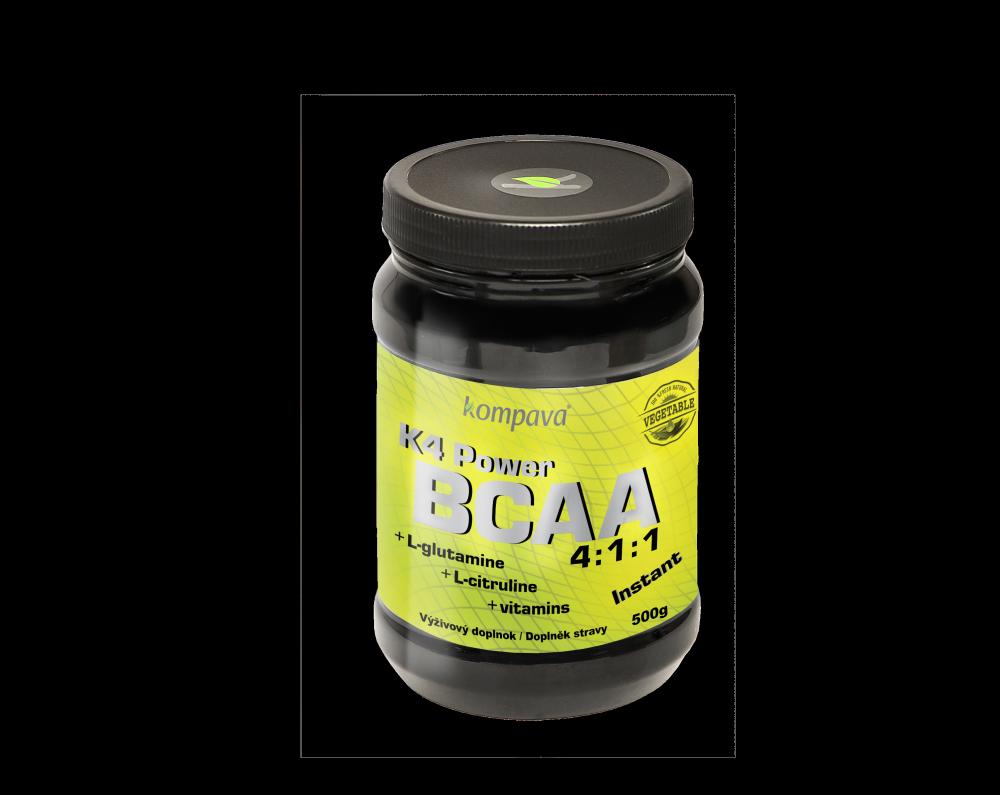 K4 Power BCAA instantné aminokyseliny 500g