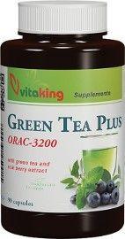 zelený čaj a acai berry vitaking 90 kapsúl