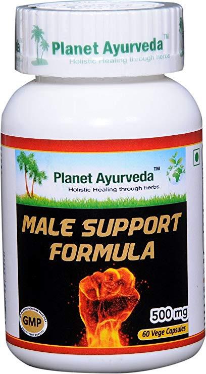 Male Support Formula Planet Ayurveda