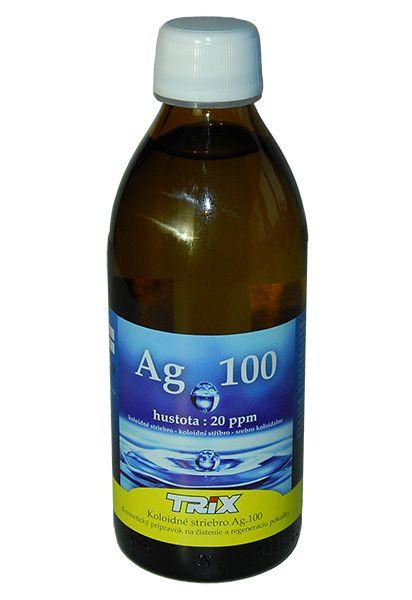koloidné striebro Ag100 20 ppm 300 ml