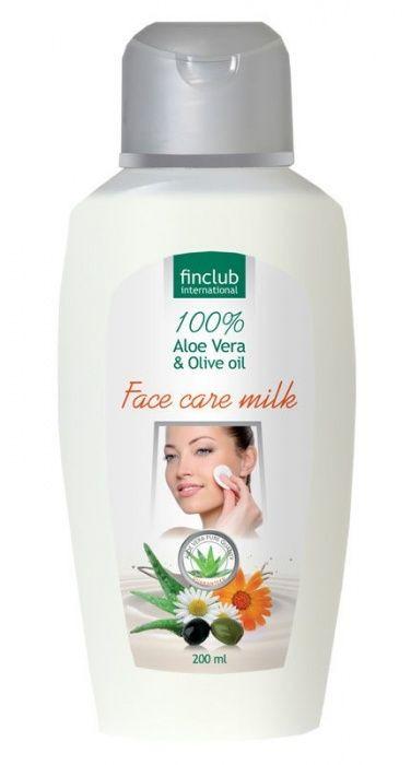 Finclub Aloe Vera hydratačné pleťové mlieko