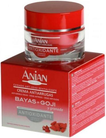 anti-aging krém na tvár proti vráskam Anian