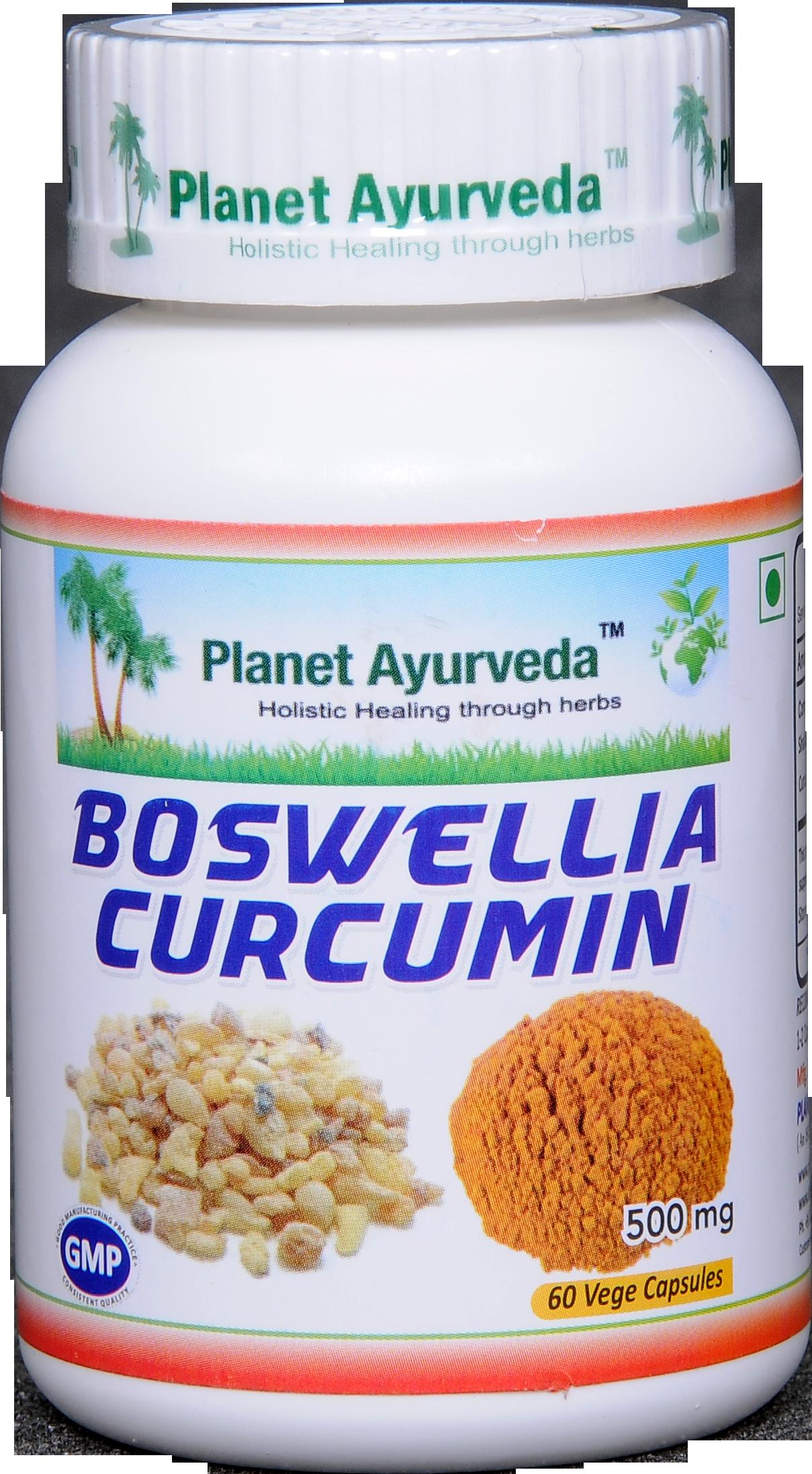 Boswellia-Curcumin kapsuly planet ayurveda