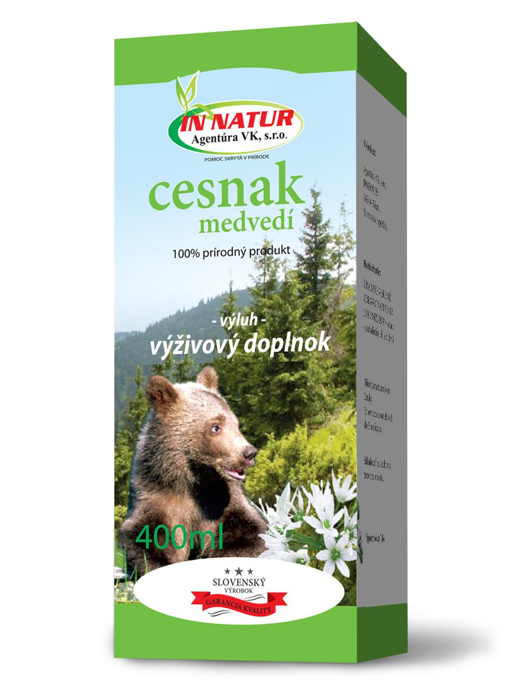 Výluh z cesnaku medvedieho