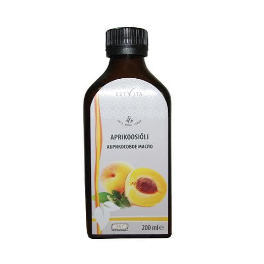marhuľový olej estvita 200 ml