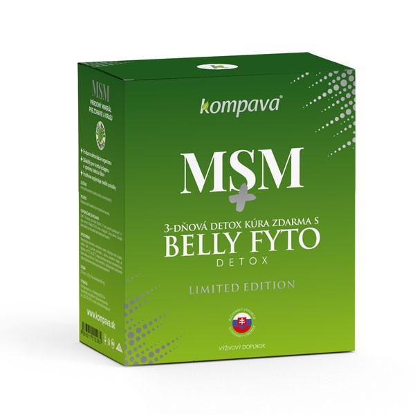 Kompava MSM - prírodný minerál pre zdravie a krásu