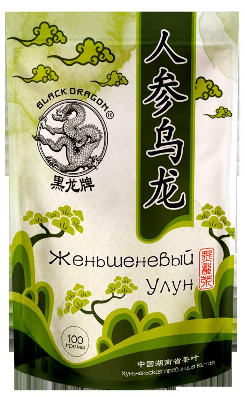DRAGON zelený čaj so ženšenom OOLONG