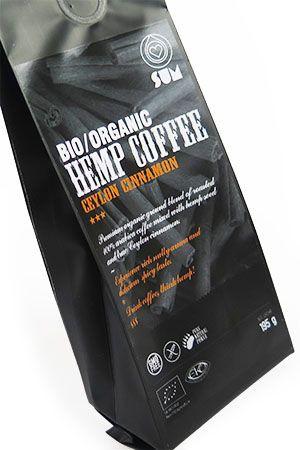 Konopná káva Sum Bio cejlónska škorica