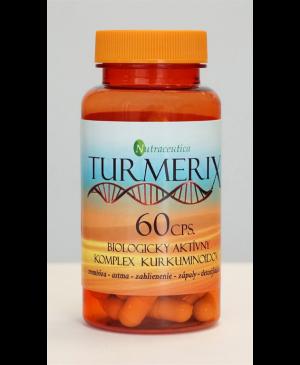 Turmerix kapsule - trombóza, astma, zahlienenie, zápaly