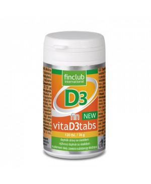 Finclub fin VitaD3tabs NEW (vitamin D3) 120 tablet
