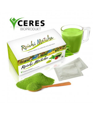 Reishi Matcha čaj BIO (30 sáčkov x 1,5 g)