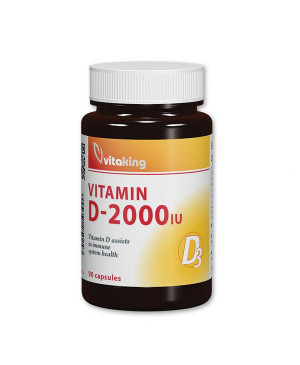 Vitaking Vitamin D3 2000 90 kapslí