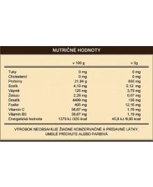 Nutriční hodnoty kávy s houbou reishi