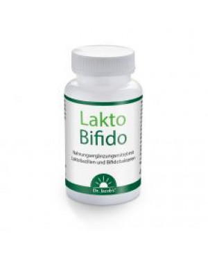 Dr. Jacobs Medical LaktoBifido 90 kapslí