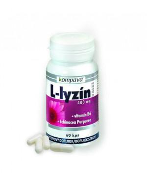 Kompava L-lysin Extra 60 kapslí