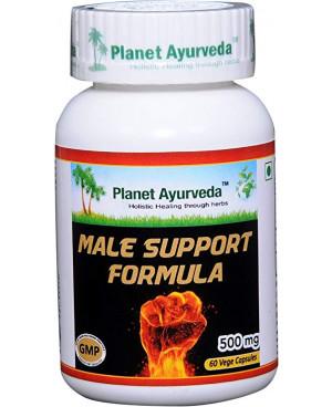Planet Ayurveda Male Support Formula (Podpora pro muže) extrakt 60 kapslí