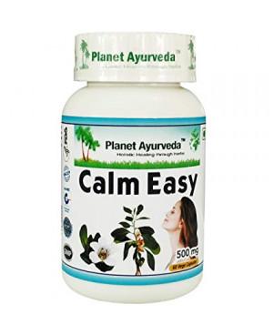 Planet Ayurveda Calm Easy (zklidnění) extrakt 500 mg 60 kapslí