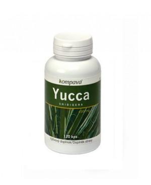 Kompava Yucca Shidigera 120 kapslí