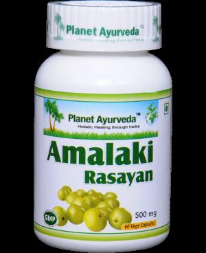 Planet Ayurveda Amalaki Rasayan extrakt 4:1 500 mg 60 kapslí