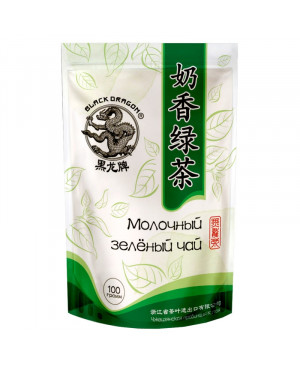 DRAGON zelený čaj mléčný 100g