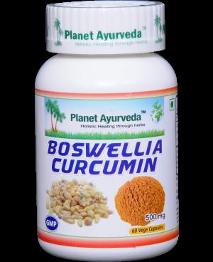 Planet Ayurveda Boswellia-Curcumin extrakt 10:1 500 mg 60 kapslí