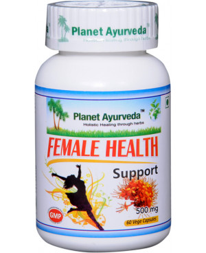 Planet Ayurveda Female Health Support (Podpora zdraví žen) extrakt 500 mg 60 kapslí