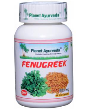 Planet Ayurveda Pískavice řecké seno (Fenugreek) extrakt 8:1 500 mg 60 kapslí