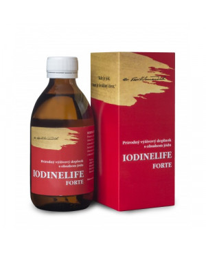 IODINELIFE FORTE (organický jód) 250 ml