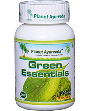 Planet Ayurveda Green Essentials extrakt 500 mg 60 kapslí