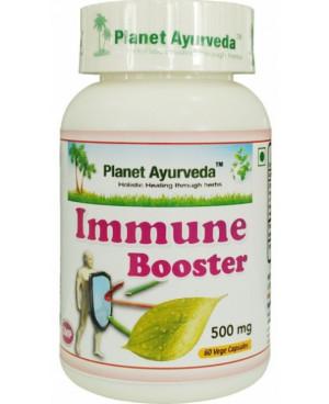 Planet Ayurveda Immune Booster extrakt 500 mg 60 kapslí