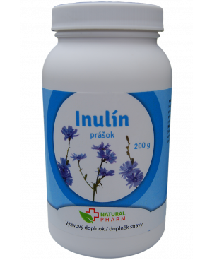 Natural Pharm Inulin prášek 200 a 400g