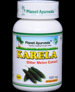 Planet Ayurveda Karela (Hořká tykev) extrakt 10:1 500 mg 60 kapslí