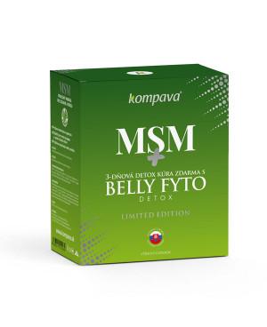 Kompava MSM 120 kapslí + 3-denní detox kúra