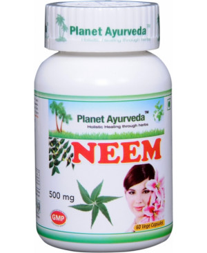 Planet Ayurveda Neem extrakt 10:1 500 mg 60 kapslí