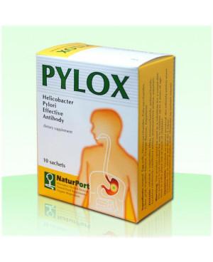 NaturPort PYLOX - Helicobacter pylori 10 sáčků