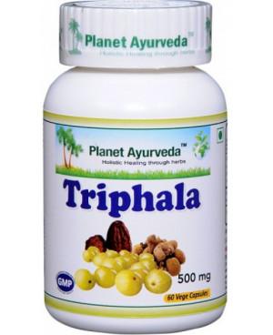 Planet Ayurveda Triphala extrakt 500 mg 60 kapslí
