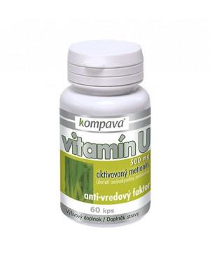 Kompava Vitamín U (anti-vředový faktor) 60 kapslí