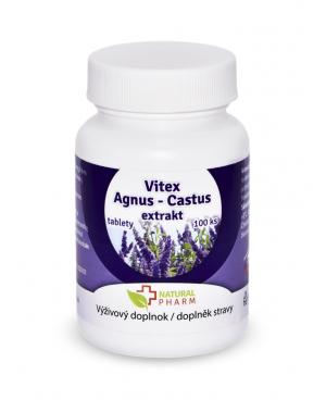 Vitex Agnus Castus (drmek obyčejný) 100 a 200 tablet