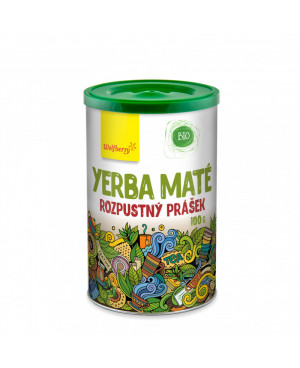 Wolfberry Zelený čaj Yerba maté prášek BIO 100g